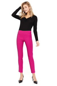 Margaret M Marlie Hot Pink Slimming Pant