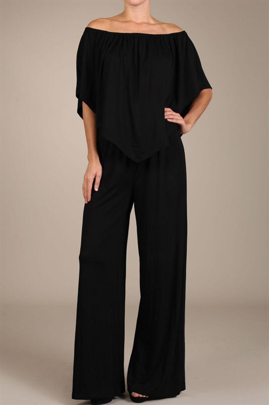 Black Convertible Jumpsuit