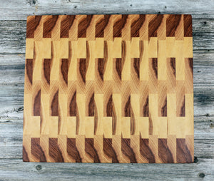 Hickory - Everwood endgrain, Cutting Boards - End grain butcher block cutting board, Everwood Handcrafts - Everwood Handcrafts
