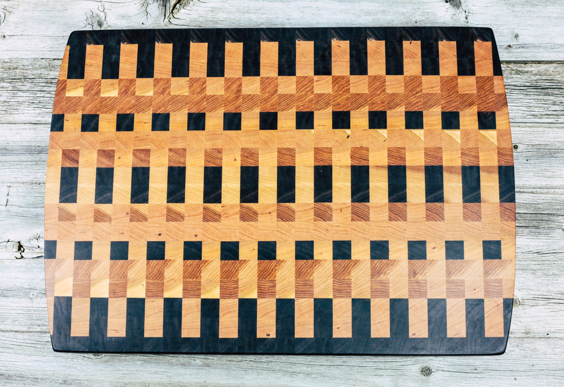 Large Mixed - Everwood endgrain, Cutting Boards - End grain butcher block cutting board, Everwood Handcrafts - Everwood Handcrafts