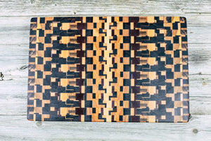 Chaotic - Everwood endgrain, Cutting Boards - End grain butcher block cutting board, Everwood Handcrafts - Everwood Handcrafts