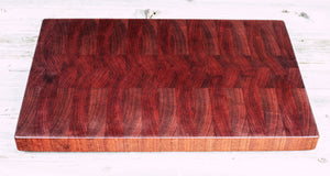 African Cherry  #100 - Everwood endgrain, Cutting Boards - End grain butcher block cutting board, Everwood Handcrafts - Everwood Handcrafts