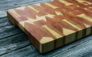 Cherry #121 - Everwood endgrain, Cutting Boards - End grain butcher block cutting board, Everwood Handcrafts - Everwood Handcrafts