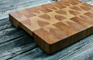 Beech #28 - Everwood endgrain, Cutting Boards - End grain butcher block cutting board, Everwood Handcrafts - Everwood Handcrafts