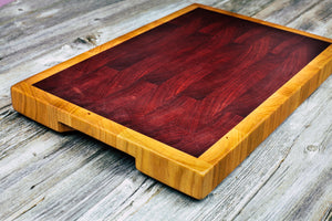 Cherry #104 - Everwood endgrain, Cutting Boards - End grain butcher block cutting board, Everwood Handcrafts - Everwood Handcrafts