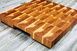 Hickory #67 - Everwood endgrain, Cutting Boards - End grain butcher block cutting board, Everwood Handcrafts - Everwood Handcrafts