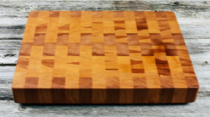 American Beech #74 - Everwood endgrain, Cutting Boards - End grain butcher block cutting board, Everwood Handcrafts - Everwood Handcrafts