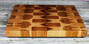 Hickory #19 - Everwood endgrain, Cutting Boards - End grain butcher block cutting board, Everwood Handcrafts - Everwood Handcrafts