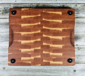 Hickory #17 - Everwood endgrain, Cutting Boards - End grain butcher block cutting board, Everwood Handcrafts - Everwood Handcrafts