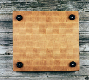 Hard Maple #124 - Everwood endgrain, Cutting Boards - End grain butcher block cutting board, Everwood Handcrafts - Everwood Handcrafts