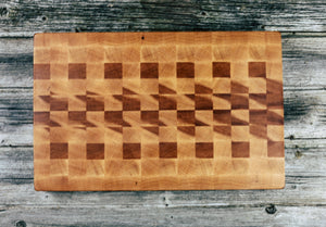 Maple #126 - Everwood endgrain, Cutting Boards - End grain butcher block cutting board, Everwood Handcrafts - Everwood Handcrafts