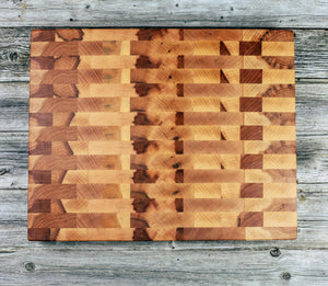 Hard Maple #127 - Everwood endgrain, Cutting Boards - End grain butcher block cutting board, Everwood Handcrafts - Everwood Handcrafts
