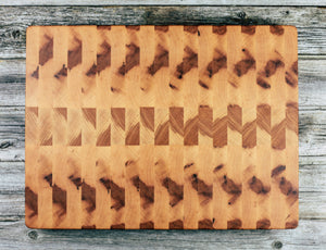 Maple #12 - Everwood endgrain,  - End grain butcher block cutting board, Everwood Handcrafts - Everwood Handcrafts