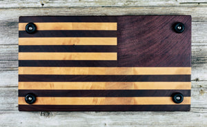 American Flag #23 - Everwood endgrain, Cutting Boards - End grain butcher block cutting board, Everwood Handcrafts - Everwood Handcrafts