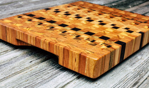 Kaleidoscope #89 - Everwood endgrain, Cutting Boards - End grain butcher block cutting board, Everwood Handcrafts - Everwood Handcrafts