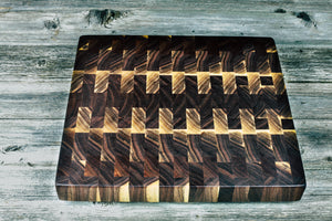Black Walnut #106 - Everwood endgrain, Cutting Boards - End grain butcher block cutting board, Everwood Handcrafts - Everwood Handcrafts