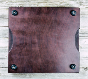 Makore #102 - Everwood endgrain, Cutting Boards - End grain butcher block cutting board, Everwood Handcrafts - Everwood Handcrafts