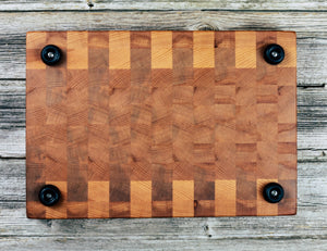 American Beech #78 - Everwood endgrain, Cutting Boards - End grain butcher block cutting board, Everwood Handcrafts - Everwood Handcrafts