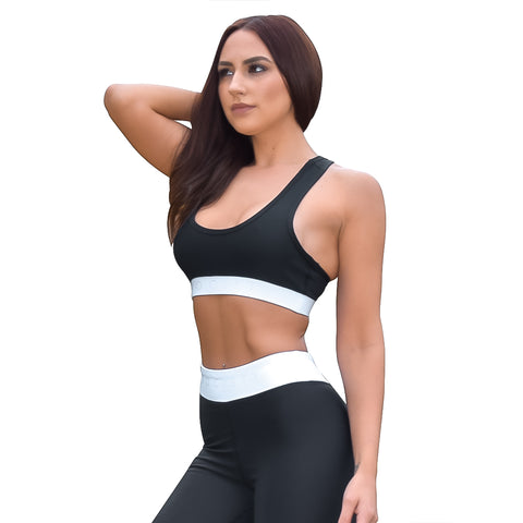 Society Seamless Crop | Black