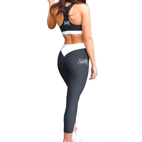 Society Seamless Leggings | Black