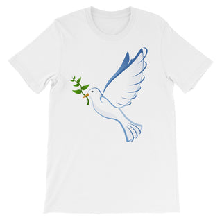 Dove Unisex short sleeve t-shirt