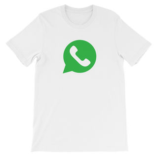 Unisex Whatsapp short sleeve t-shirt - Big Papi Boston