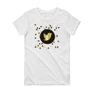 Twitter- Short Sleeve Women's T-shirt