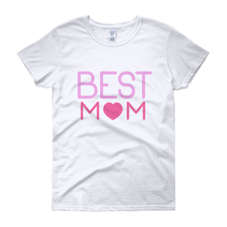 Best Mom- Short Sleeve T-shirt