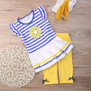 Girls Clothing Sets Baby Kids Clothes 2 pcs