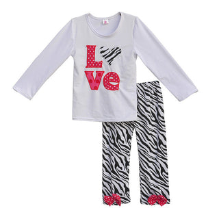 Hot Cotton Children Zebra Legging  Sets