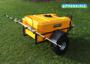 Load image into Gallery viewer, Perkinz Sprayer Trailer with boom