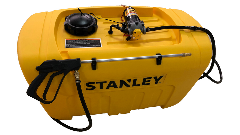 200 litre Stanley Sprayer with 11.3 (60psi) lpm Pump