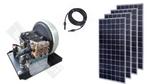 Triplex Solar Water Pump + 1120W Panels.