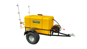 Load image into Gallery viewer, 600 litre Perkinz Sprayer Trailer with DEK pump.(and Spray Boom)