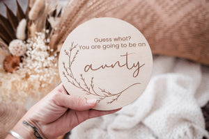 Single Announcement Disc - AUNTY
