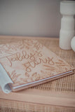 YOUR STORY - A wooden baby memory book - CUSTOM NAME ON COVER