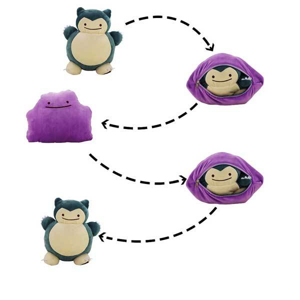 Ditto To Snorlax