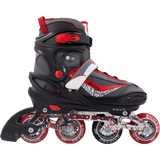 Chicago Boys Adjustable Inline Skates black/red - NSG Products