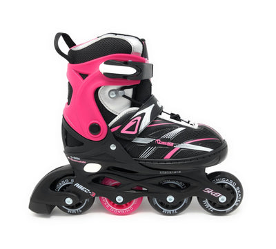 Chicago 2020 New Girls 5 Size Adjustable Inline Skates - NSG Products
