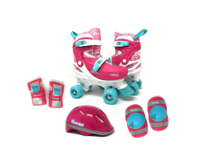 Chicago 2020 Girls Quad Roller Skate Combinartion Set - NSG Products