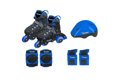 Chicago 2020 In Line Training Skate Combination Set - Blue - NSG Products