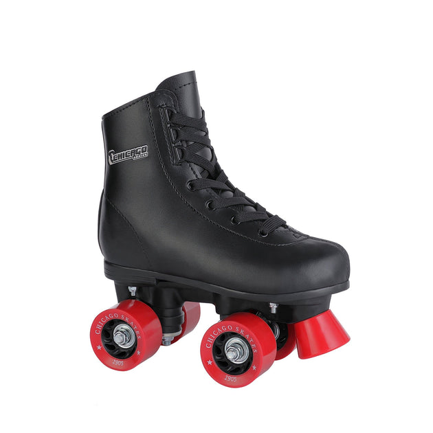 Chicago Boy's Rink Skate, Black - NSG Products