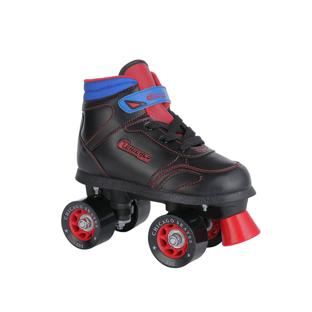 Chicago Boy's Sidewalk Skate - Black - NSG Products
