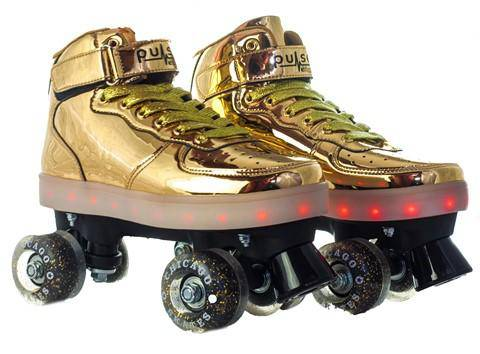 Chicago Pulse Skate - Gold - NSG Products
