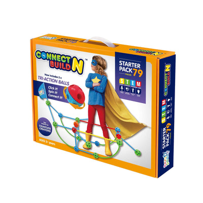 Eezy Peezy Connect N Build - 79 Piece Set - NSG Products