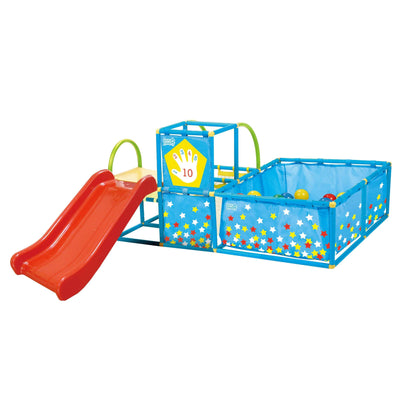 Eezy Peezy Play Gym with 50 Balls & Slide - NSG Products