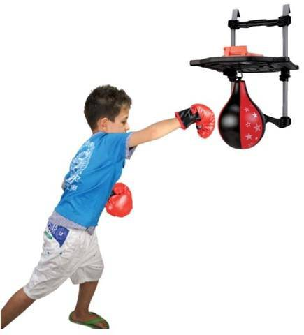 NSG Over The Door Combo: Speed Bag & Basket ball - NSG Products
