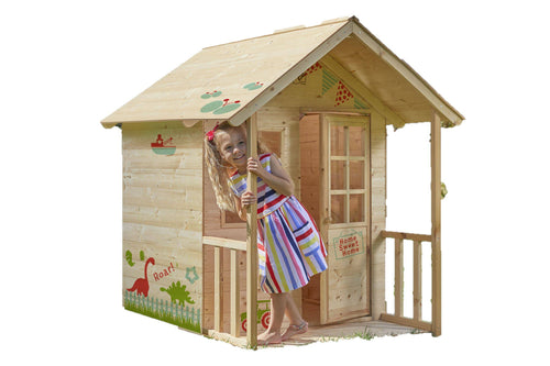 Hedgerow Wooden Playhouse - NSG Products