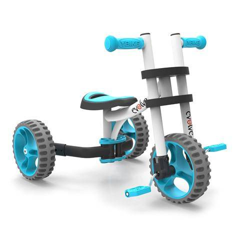 YBIKE Evolve 3in 1 Tricycle/Balance Bike - NSG Products