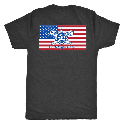 American Grease Monkey T-Shirt 4.2 oz